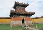 MONGOLIA 466 (EL MONASTERIO DE AMARBAYASGALANT) EL ESTILO DEL CONJUNTO ES PREDOMINANTE EL CHINO, CON ALGUNA INFLUENCIA TIBETANA Y MONGOL