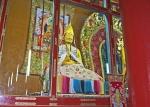 MONGOLIA 471 (EL MONASTERIO DE AMARBAYASGALANT) … DETALLE DE UN BUDA ENOJADO...