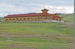 MONGOLIA 498 (EL MONASTERIO DE AMARBAYASGALANT) CLAUSTRO DONDE MORAN LOS MONJES