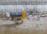MONGOLIA 513 (EL MONASTERIO DE AMARBAYASGALANT) OFRENDAS A LOS BUDAS, LA GENTE NO LAS TOCA AUNQUE SEAN POBRES