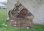 MONGOLIA 515 (EL MONASTERIO DE AMARBAYASGALANT) CURIOSO SISTEMA CONSTRUCCION FIJA, 1° ARMAZON DE MADERA, 2°ESPECIE DE ADOBE CRUZADO, 3° CAPA DE CEMENTO