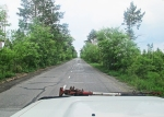 MONGOLIA 522 (HACIA DARHAN) POR PRIMERA VEZ EN MONGOLIA EMPEZAMOS A VER ARBOLES EN ABUNDANCIA
