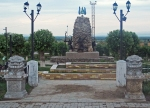 MONGOLIA 550 (SüKHBAATAR) MONUMENTO AL ARQUERO MONGOL