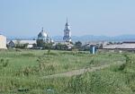 MONGOLIA 564 (ALTANBOULAG LA FRONTERA) VISTA AUN DESDE MONGOLIA UNA IGLESIA ORTODOXA RUSA. EN 1995 ESTADO MONGOL AUTORIZA LA CREACION DE UNA ZONA