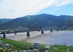 SIBERIA 2°, 13 (REPUBLICA DE BURIATIA) PUENTE FERREO SOBRE EL RIO SELENGA, PASO OBLIGATORIO DEL TANSSIBERIANO ANTES DE LA POBLACION MOSTOVOY