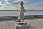 SIBERIA 2°, 161 (TOMKS) MONUMENTO A ANTON CECHOV,1860- 1904 FUE MEDICO Y ESCRITOR, UNO DE LOS MAS IMPORTANTES ESCRITORES DE CUENTOS EN LA HISTORIA DE LA LITERATURA