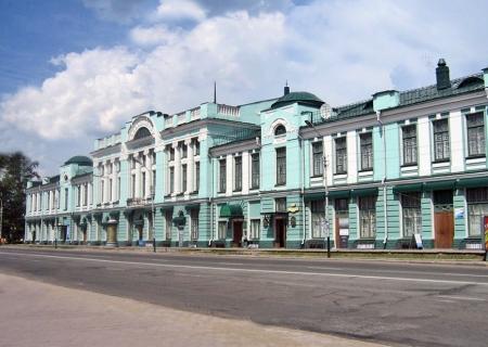 SIBERIA 2°, 211 (LA CIUDAD DE OMSK) EL MUSEO DE BELLAS ARTES. FUNDADA EN 1716, FUE COMO EL SITIO MÁS FORTIFICADO DE SIBERIA, EN SU PRESIDIO FUE INTERNADO FIODOR DOSTOYEVSKI
