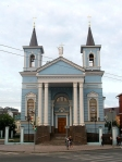 SIBERIA 2°, 260 (KAZAN) LA IGLESIA DE LA PARROQUIA CATOLICA DE KAZAN, ERIGIDA EN EL SIGLO XIX