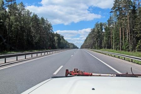 RUSIA 2° ENTRADA 1 (HACIA MOSCU) ACERCANDONOS POR EL ESTE EN LA AUTORUTA M-71