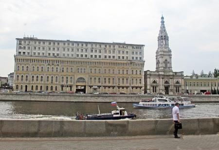 RUSIA 2° ENTRADA 14 (MOSCU) EL RIO MOSCOVA AFLUENTE DEL OKA TIENE UNA LONGITUD DE 502 KM