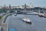 RUSIA 2° ENTRADA 16 (MOSCU) EL RÍO MOSCOVA ES NAVEGABLE EN SU TOTALIDAD SOLO EN VERANO. EN INVIERNO SE CIERRA DEBIDO A QUE SE CONGELA