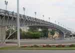 RUSIA 2° ENTRADA 17 (MOSCU) EL PUENTE ANDREYEVSKI SOBRE EL RIO MOSCOVA