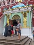 RUSIA 2° ENTRADA 21 (MOSCU)LA PLAZA ROJA - TRADICION DICE QUE LAS PERSONAS QUE ACCEDEN A LA PLAZA ROJA POR LA PUERTA DE LA RESURRECCION DEBEN VISITAR LA VIRGEN DE IVERSAKAIA
