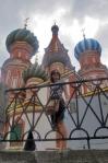 RUSIA 2° ENTRADA 27 (MOSCU) CATEDRAL DE SAN BASILIO -CONSTRUIDA ENTRE 1555 Y 1561