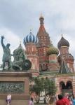 RUSIA 2° ENTRADA 30 (MOSCU) CATEDRAL DE SAN BASILIO - EL ZAR IVAN EL TERRIBLE ORDENO SU CONSTRUCCION
