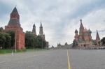 RUSIA 2° ENTRADA 31 (MOSCU) CATEDRAL DE SAN BASILIO - SU SITUACION EN LA PLAZA ROJA