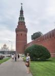 RUSIA 2° ENTRADA 37 (MOSCU) EL KREMLIN -LA TORRE DEL AGUA CONSTRUIDA POR EL ARQUITECTO OSIP BOVE, MIDE 61,25 METROS