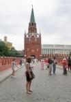RUSIA 2° ENTRADA 38 (MOSCU) EL KREMLIN Torre Salvador