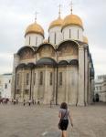RUSIA 2° ENTRADA 39 (MOSCU) EL KREMLIN - LA CATEDRAL DE LA DORMICIÓN SE CONSTRUYO EN LOS AÑOS 1475 A 1479 EN LA EPOCA DE IVAN I DE RUSIA