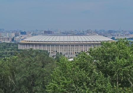 RUSIA 2° ENTRADA 4 (MOSCU) EL ESTADIO DEPORTIVO DE LUZHNIKÍ CON CAPACIDAD DE 89. 318 ASIENTOS