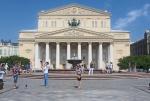 RUSIA 2° ENTRADA 43 (MOSCU) EL BOLSHOI INAUGURADO EL 18 DE ENERO DE 1825, UN SANTUARIO DE LA DANZA PROBABLEMENTE EL MEJOR DEL MUNDO
