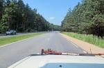 LETONIA 2 (HACIA RIGA) POR LA FENOMENAL E-6 A UNOS 40 KM. DE LA CAPITAL LITUANA