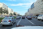 RUSIA 2º ENTRADA 1 (SAN PETESBURGO) LLEGADA POR LA CARRETERA E-105