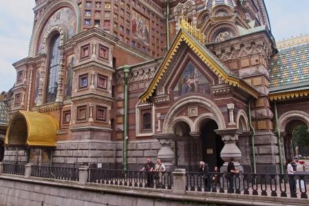 RUSIA 2º ENTRADA 12 (SAN PETESBURGO) IGLESIA DE LA RESURRECCIÓN DE CRISTO 1