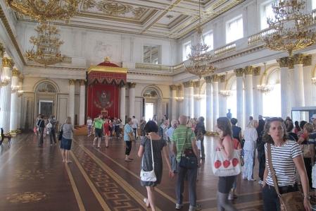 RUSIA 2º ENTRADA 28 (SAN PETESBURGO) MUSEO DEL HERMITAGE, DETALLES 9