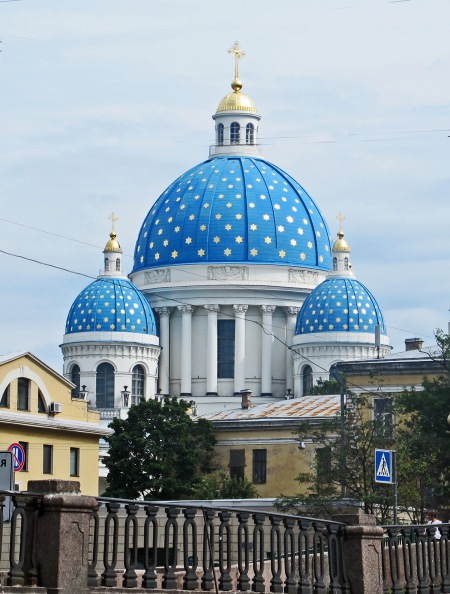 RUSIA 2º ENTRADA 4 (SAN PETESBURGO) CATREDAL DE LA SANTA TRINIDAD DE LA TRINIDAD, ES PATRIMONIO DE LA HUMANIDAD DESDE 1990, CONSTUIDA ENTRE 1828 y 1835