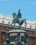 RUSIA 2º ENTRADA 7 (SAN PETESBURGO) MONUMENTO AL EMPERADOR NICOLAS 1º, ES OBRA DEL ESCULTOR FRANCES MONTFERRAND