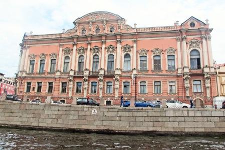 RUSIA 2º ENTRADA 8 (SAN PETESBURGO) PALACIO BELOSELSKI-BELOZERSKI DE 1750, ESTA UBICADO EN LA INTERSECCIÓN DEL RÍO FONTANKA Y EL NEVSKY