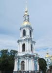 RUSIA 2º ENTRADA 9 (SAN PETESBURGO) TORRE DE LA CATEDRAL DE SAN NICOLAS DE LOS MARINOS, CONSTRUIDA EN 1753-1762