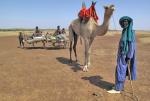 MALI 171 (TUAREG EN EL DESIERTO DE GURMA) LOS TUAREGS ES UN PUEBLO BEREBER NOMADA DEL DESIERTO DEL SAHARA