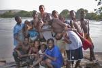 MALI 42 (DE BAFOULABE A MANANTALI, BORDEANDO EL RIO BAFING) A LOS NIÑOS LES ENCANTA HACERSE FOTOS