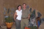 MALI 61 (BAMAKO) EN EL RESTURANTE SANTORO, SIBEN LA TRADICIONAL COCINA MALIANA