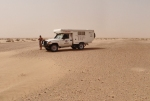 SAHARA OCCIDENTAL 13 (HACIA DAKHLA) HACE UN CALOR TERRIBLE