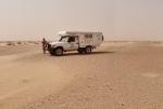 SAHARA OCCIDENTAL 13 (HACIA DAKHLA) HACE UN CALOR TERRIBLE