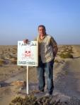 SAHARA OCCIDENTAL 24 (LA FRONTERA) ESTA INDICADA LA ZONA MINADAS