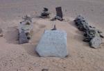 SAHARA OCCIDENTAL 4 (AL SUR DE SMARA} UNA TUMBA DE LOS NOMADAS