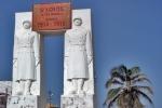 SENEGAL 10 (SAINT-LOUIS) MONUMENTO A LOS AFRICANOS MUERTOS, QUE LUCHARON CON LOS FRANCESES EN LA PRIMERA GUERRA MUNDIAL