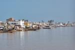 SENEGAL 4 (SAINT-LOUIS) LA CIUDAD COLONIAL ESTA SITUADA EN UNA ISLA DE 2KM. DE LARGA A UNOS 400 M. DE ANCHO EN EL RIO SENEGAL