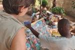 BURKIINA FASO 13 (UAGADUGU) PINTOR DE ESTILO NAIF