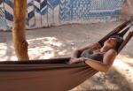BURKIINA FASO 87 (TIEBELE, UN POBLADO DE LA ETNIA KASSENA) DURMIENDO LA SIESTA