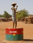 BURKIINA FASO 98 (DE VUELTA DE COSTA DE MARFIL HACIA NIGER) LAS ULTIMAS COMUNIDADE ANTES DE NIGER 1