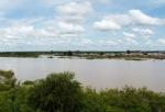 GHANA 2 (ENTRADA POR (EL NORTE) EL RIO VOLTA BLANCO, TAMBIEN LLAMADO RIO NAKAMBE, ES UN AFLUENTE DEL RIO VOLTA