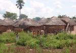 GHANA 4 (ENTRADA POR EL NORTE) UN TIPICO POBLADO DEL NORTE DE GHANA