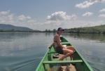 GHANA 45 (EN CANOA POR EL RIO VOLTA) SUS DOS RIOS AFLUENTES MAS IMPORTANTES SON EL VOLTA BLANCO Y EL VOLTA ROJO