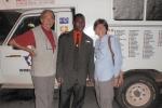 GHANA 59 (EN ACCRA) CON EL AMABILISIMO DIRECCTOR DEL NOVOHOTEL EN ACCRA