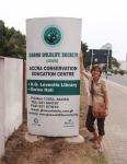 GHANA 60 (EN ACCRA) DE VISITA A WILDLIFE SOCIETY ES UNA ONG CONSERVACIONISTA IQUE INTENTA APOYAR LA DIVERSA FAUNA DE GHANA